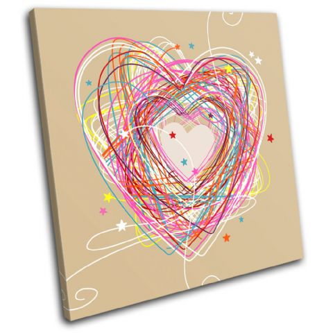 Sketch Heart Love - 13-0222(00B)-SG11-LO